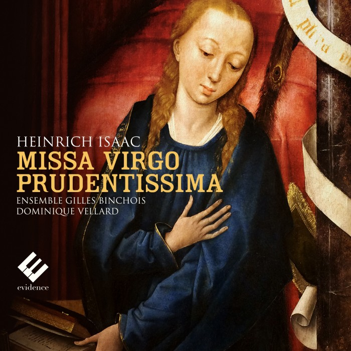 Cover EVCD023 MissaVirgoPrudentissima