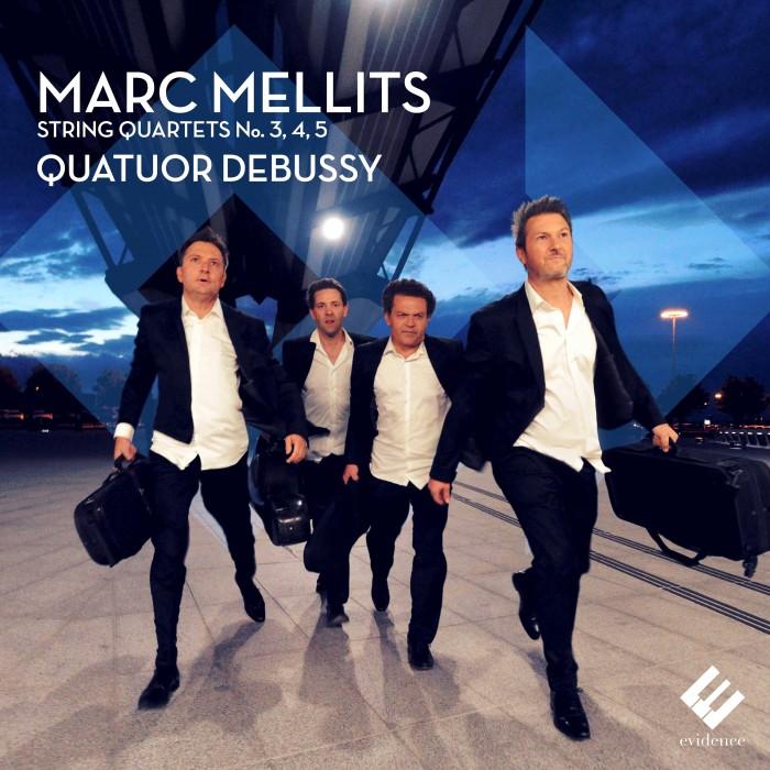 EVCD033 Cover Mellits Quatuor Debussy HD