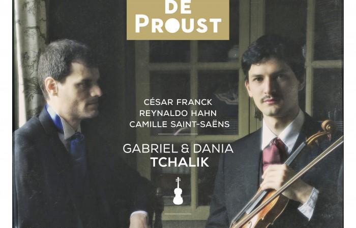 Cover EVCD036 Le Violon de Proust
