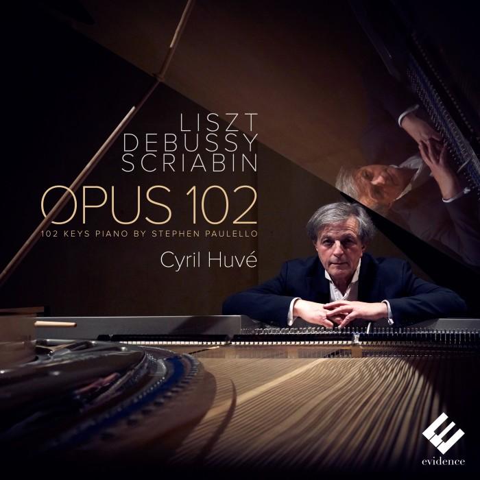 EVCD045 Cyril Huvé Opus 102