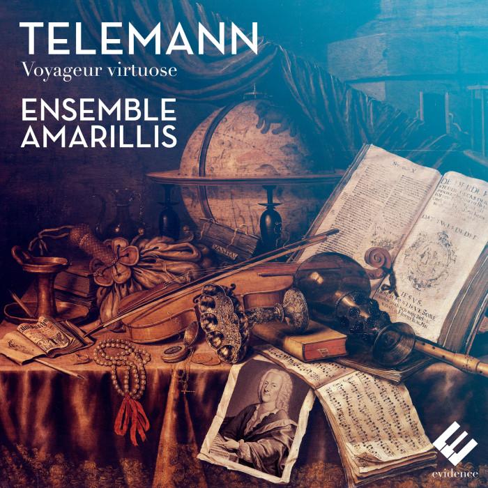 EVCD041 Telemann Voyageur Virtuose