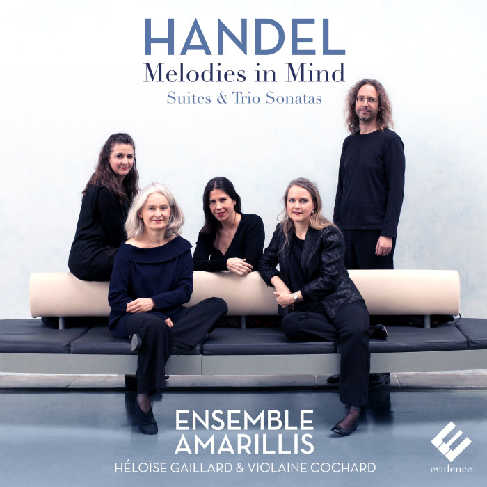 Cover evcd049 Handel Melodies in Mind